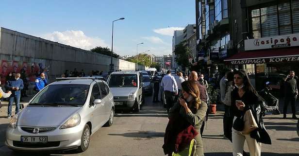 İzmir'deki deprem orada da hissedildi