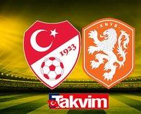 Türkiye-Hollanda maçı CANLI ANLATIM İZLE