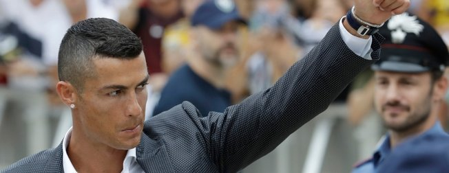 Juventuslu yıldız Cristiano Ronaldo Filistin için 1,5 milyon euro bağışladı!