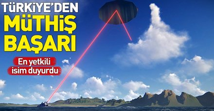 Aselsan Başkanı: Önemli bir mesafedeki hedefi lazer silahımızla vurabilir durumdayız