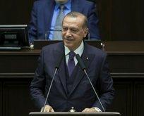 Erdoğan konuşmasını kesti küçük kıza cevap verdi
