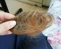 Kökünden sökülen sadece saçlar değil insanlık!