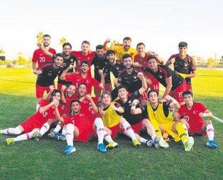 U19 Milli Takımımız Elit Tur'a yükseldi