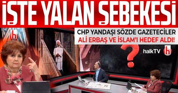 CHP yandaşı Halk TV'de yalan üstüne yalan!