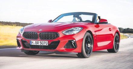 Yeni BMW Z4 yüzünü gösterdi