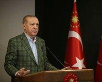 Erdoğan'dan sosyal mesafe ve maske uyarısı