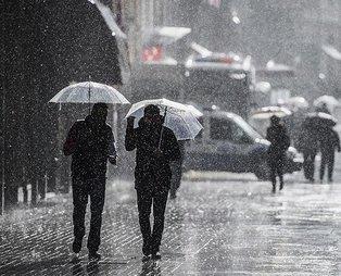 HAVA DURUMU   Meteorolojiden İstanbul için kuvvetli yağış ve dolu uyarısı!