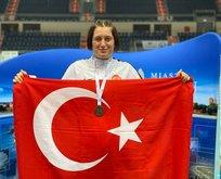 Özel sporcu Altın dünya şampiyonu oldu