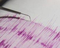 Elazığ'da 4.6 şiddetinde deprem!