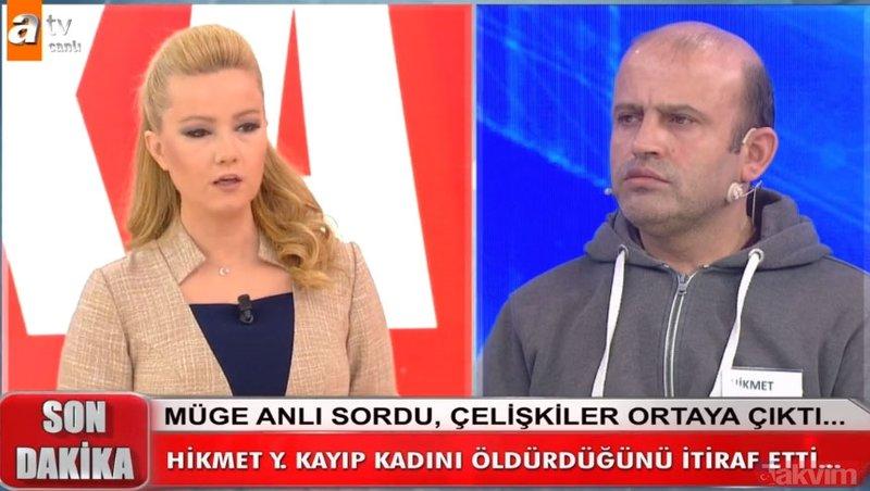 Müge Anlı canlı yayında, Hikmet Yalçınkaya'nın Feride Ercan'ı vahşice öldürdüğü anları anlattı! 11 Şubat