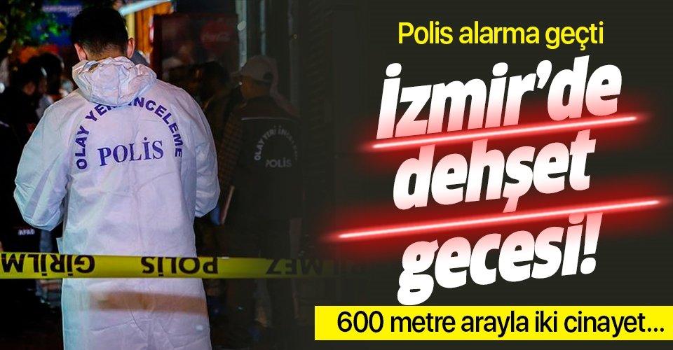İzmir Torbalı'da peş peşe 2 cinayet! Polis alarma geçti