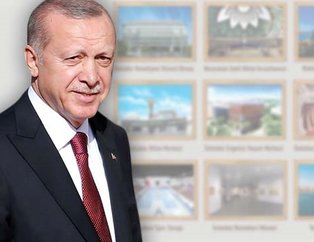 İşte Başkan Erdoğan'ın açılışını yaptığı 9 proje
