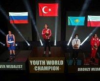 Milli sporcu dünya şampiyonu oldu!