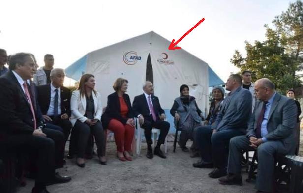 kılıçdaroğlu kızılay çadırı ile ilgili görsel sonucu