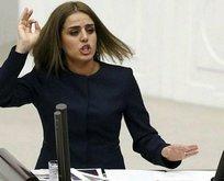 HDPli Ayşe Acar Başarandan TBMMde rezalet yemin!