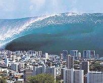 Ciddi zararlar verecek bir tsunami meydana gelebilir