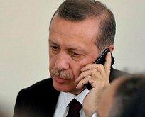 Erdoğan'dan şehit ailesine telefon