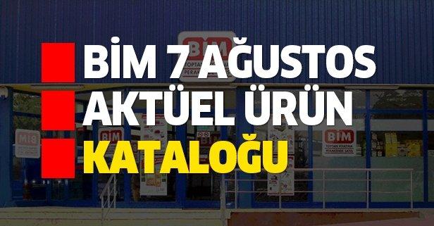 BİM 7 Ağustos aktüel kataloğuyla yeni indirimler sunuldu!