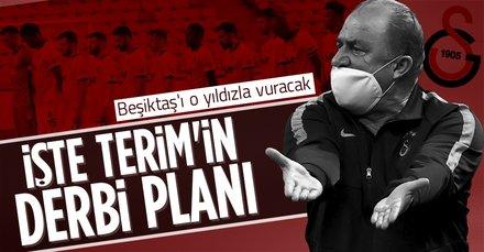 Terim'in derbi planı belli oldu! Beşiktaş'ı o yıldızıyla vuracak