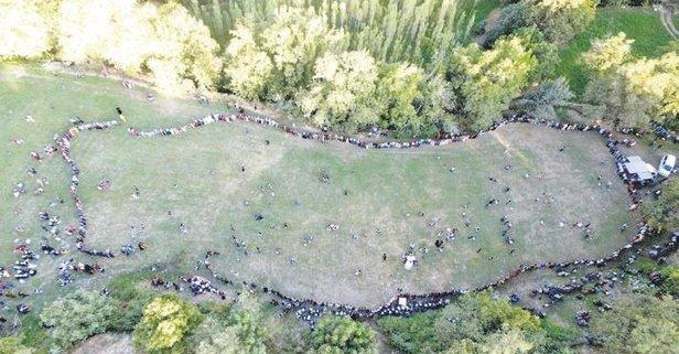 Düğünde Halay çeken Davetliler Türkiye Haritası Oluşturdu