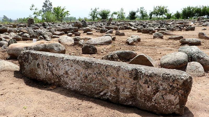 Hatayda Kayı damgalı mezar taşları bulundu