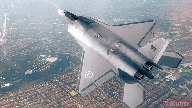 Milli savaş uçağı milli jet motor ile uçacak (Türkiye'nin yeni nesil yerli silahları)