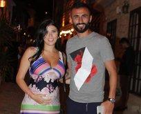 Fenerbahçe'nin eski futbolcusunun eşi...