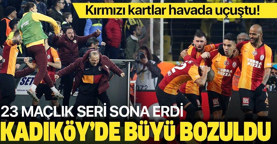 MAÇ SONUCU: Fenerbahçe 1-3 Galatasaray
