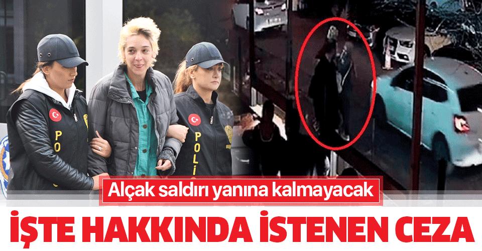 Son dakika: Beşiktaş'ta başörtülü kadına saldırıya 4 yıla kadar hapis istemi