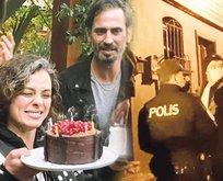 Doğum günü kutlamasına polis baskını!