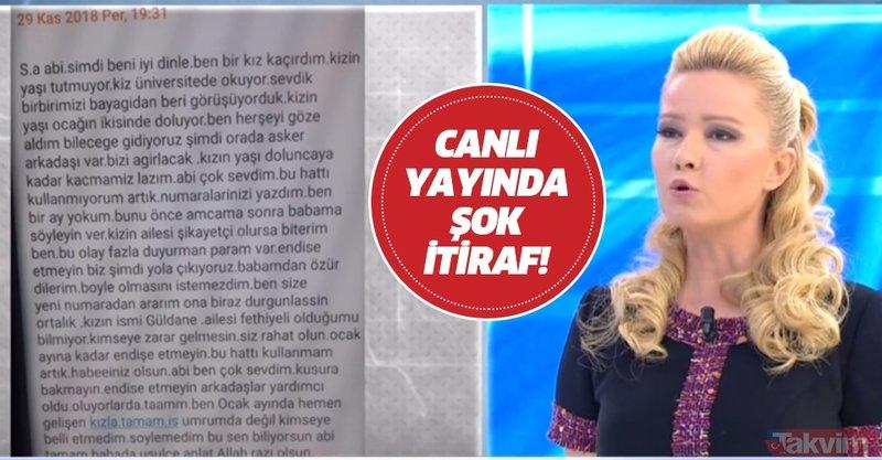 Müge Anlı canlı yayında gizemli kişiden şok itiraf: Burhan Aykurt'u öldürüp attık...