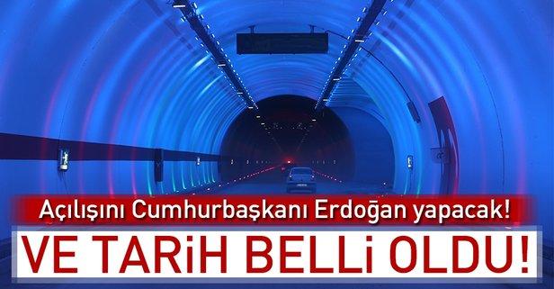 Ovit Tüneli'nin açılış tarihi belli oldu!