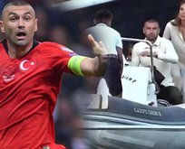 Burak Yılmaz EURO 2020 hezimeti sonrası tatile çıktı