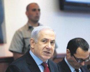 Netanyahu'ya soğuk duş