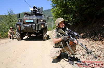 Karadenizde PKKnın kabusu JÖH timleri son teknolojiyle teröristlerin peşinde!