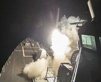 ABD Suriye'yi füzelerle vurdu!