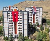 Geliri 3 bin lira altında olanlara ve yeni evlenen çiftlere 100 liraya kiralık evler!