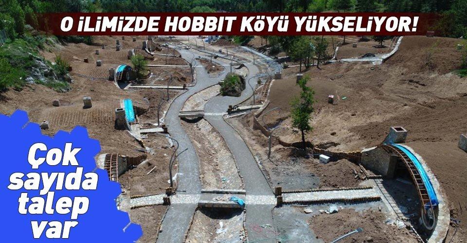 Sivasta Hobbit köyü yükseliyor