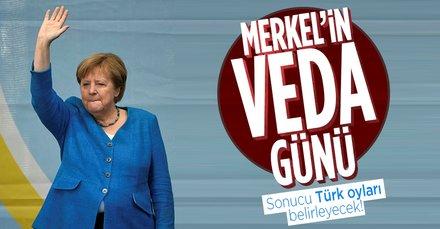 Almanya'da Merkel dönemi sona eriyor! Sonucu Türk oyları belirleyecek