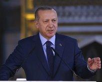 Başkan Erdoğan İstanbul'da açıklamalarda bulundu