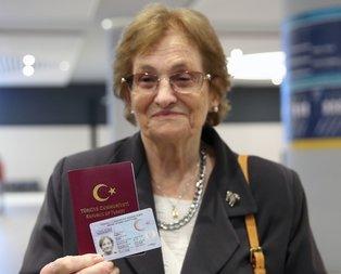 69 yıl vatan hasreti çeken Raşel Kazes, Türkiye'de