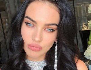 Adriana Lima'nın tahtına göz diken Rus güzel; Dasha Kina