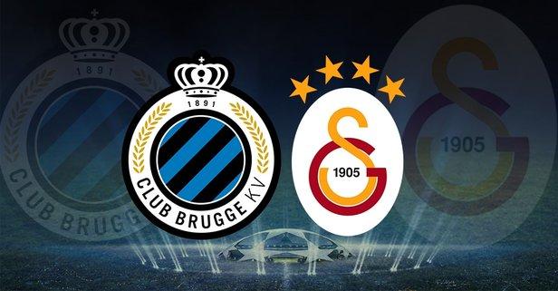 Club Brugge-Galatasaray maçı hangi kanalda?