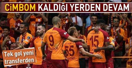 Cimbom yeni transferiyle güldü I Galatasaray: 1 - Göztepe: 0 (MAÇ SONUCU)