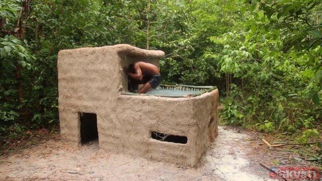 Para bile harcamadan önce ev sonra havuz yapan YouTuber!