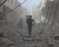 Esed rejiminden bayramın ilk gününde bombardıman!