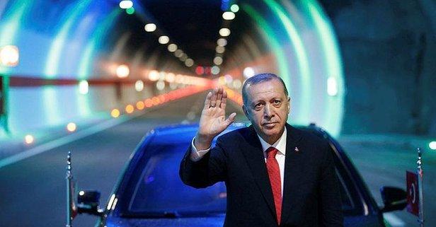 Dünyanın en büyük 2. tüneli Ovit açıldı