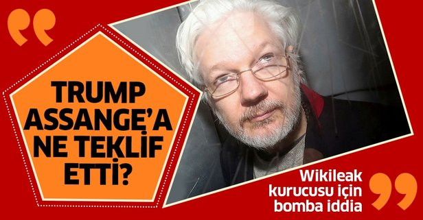 Wikileaks Kurucusu Julian Assange hakkında bomba iddia!