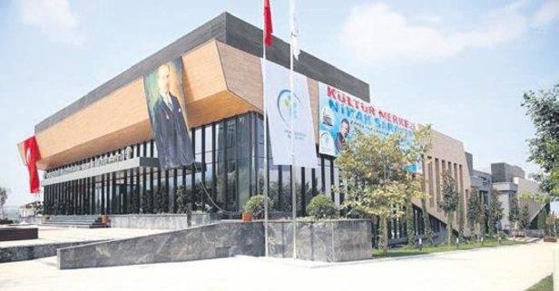 Denızli Kültür Merkezi açıldı