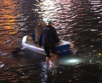 Vatandaş suya daldı polis uyardı! Dikkat zehirli olabilir